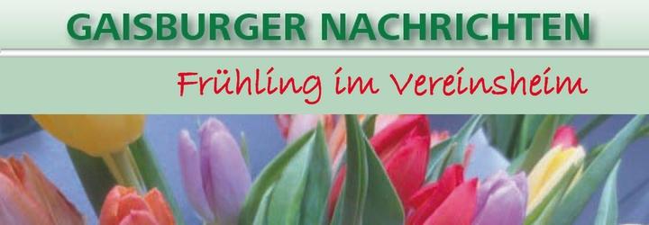 Die erste Ausgabe der Gaisburger Nachrichten 2019 ist erschienen