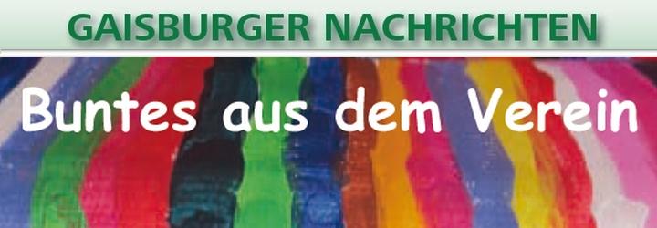Die Ausgabe der Gaisburger Nachrichten 2020 ist erschienen